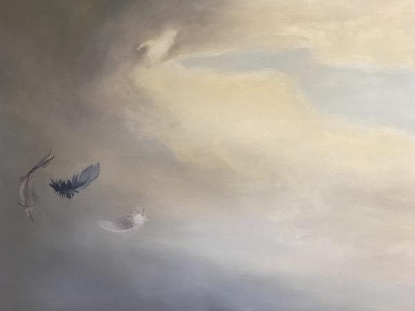 A New Dawn, oil on camvas, 77 x 102cm