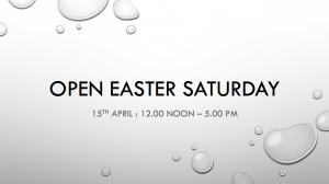 Easter opening