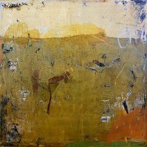 Land from afar 4, acrylic on canvas, 60 x 60cm
