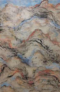Landmarks 2, mixed media on linen, 102 x 77cm copy