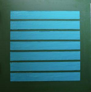 Phenomena oil on linen, 122 x 122cm