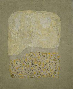 Split memory, acrylic & mixed media on canvas, 122 x 102cm