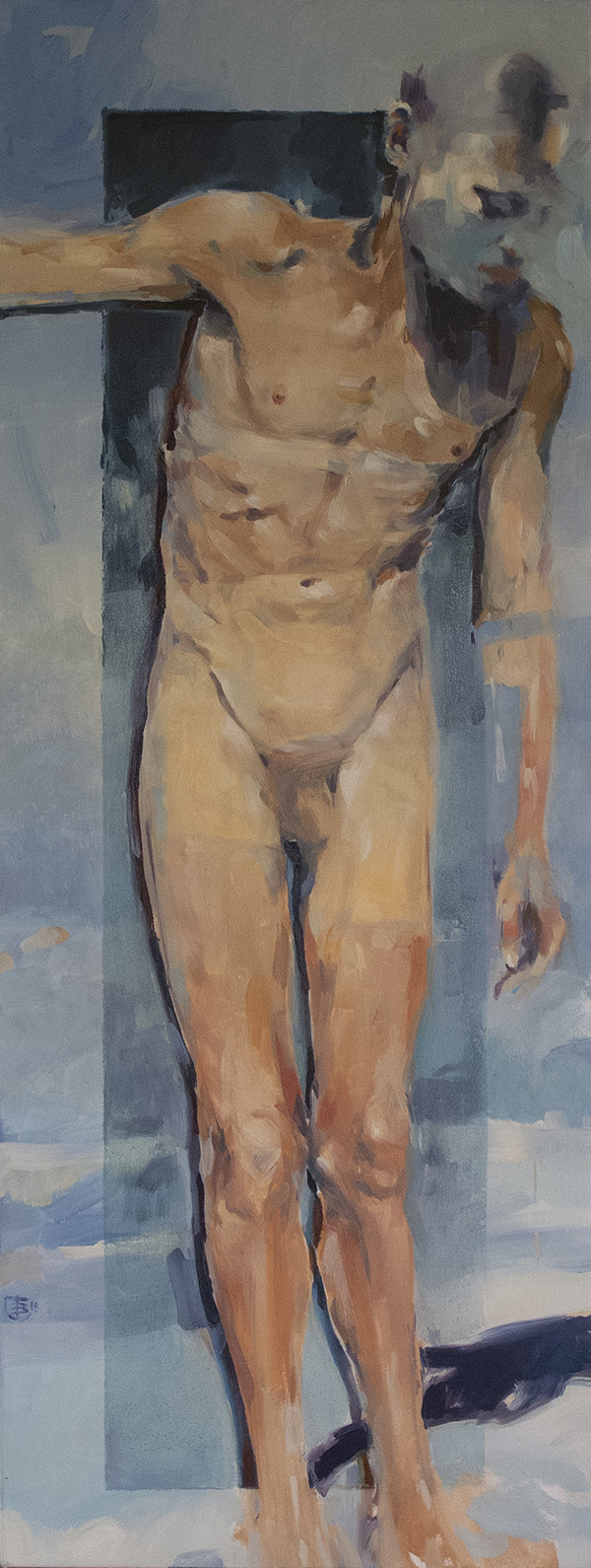 After Noon oil on canvas 153 x 56