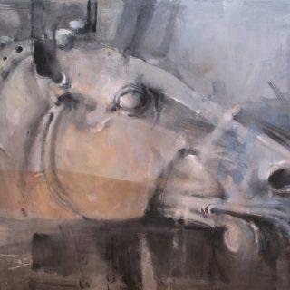Head 2 watercolour 76 x 56 cm