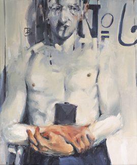 Man no 6 oil on canvas 61 x 51cm