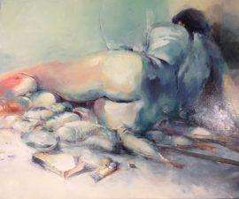 My Table, oil on canvas, 76 x 91cm