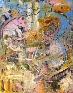 Spirit within oil on canvas 61 x 77