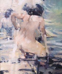 Summer 2, oil on canvas, 61 x 51cm