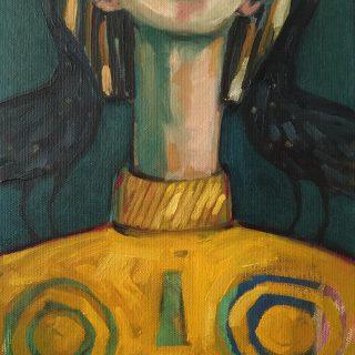2015 histories oil on canvas, 36 x 28cm
