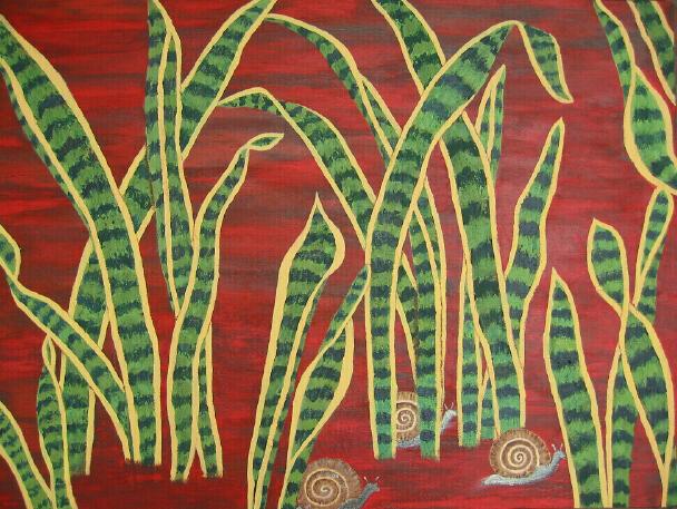 Laurentii leaves & snails
