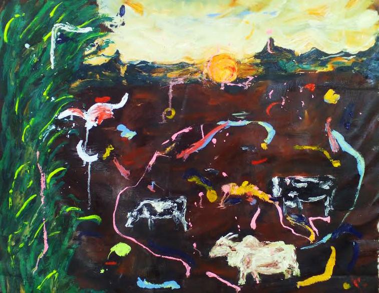 Murwillumbah nsw australia oil on canvas 72 x 60cm