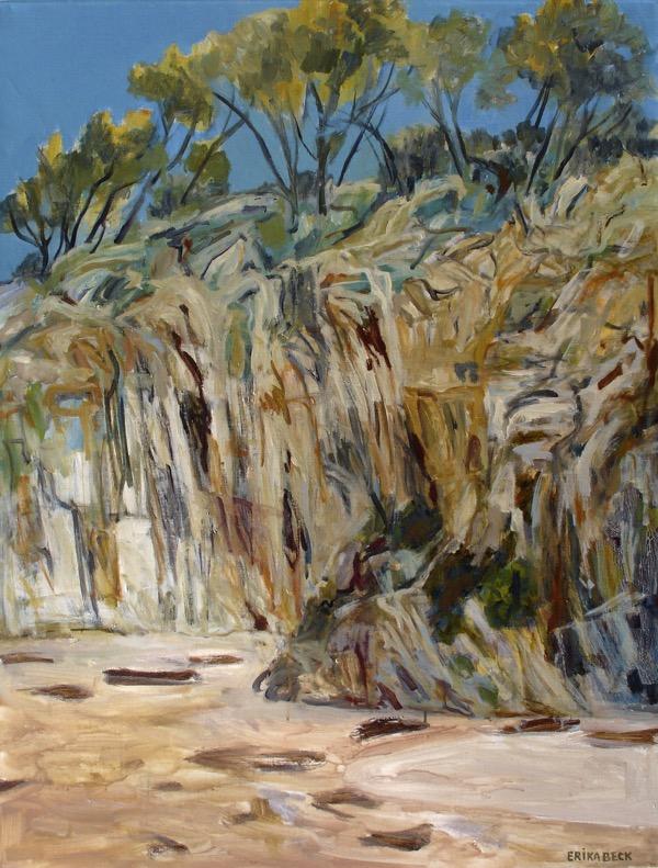 Barlings beach, the headland acrylic on linen 122 x 91cm copy