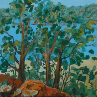 Beauty Point Foreshore Walk 1, acrylic on canvas, 76 x 76cm