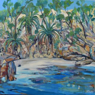 Beauty Point Foreshore Walk 2, synthetic polymer on canvas, 91 x 91cm