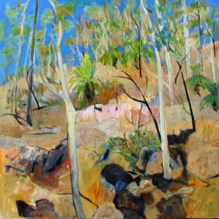 Beauty point the clearing acrylic on canvas 91 x 91cm copy
