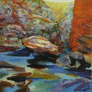 Beyond alice acrylic on canvas, 91 x 91cm copy