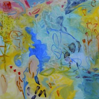 First light acrylic on canvas, 100 x 110cm copy