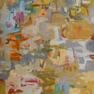 Fraser island sands acrylic on canvas 76 x 61cm copy