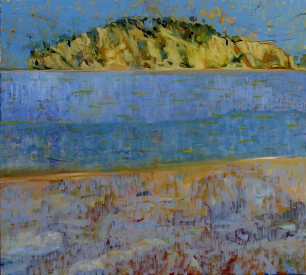 Jimmi's island acrylic on canvas, 90 x 101cm copy