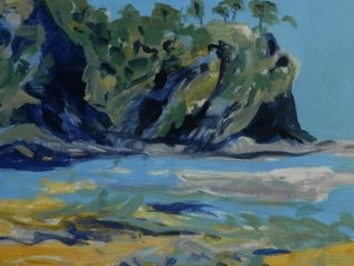 Malua bay acrylic on canvas 100 x 110cm copy