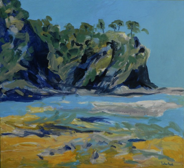 Malua bay acrylic on canvas 100 x 110cm copy