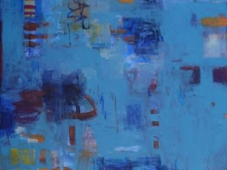 Pearl bay 1 acrylic on canvas 123 x 90cm copy