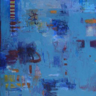 Pearl bay 1 acrylic on canvas 123 x 90cm copy
