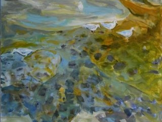 Rockpool 1 acrylic on canvas, 101 x 76cm copy