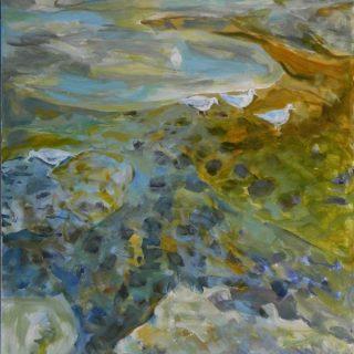 Rockpool 1 acrylic on canvas, 101 x 76cm copy