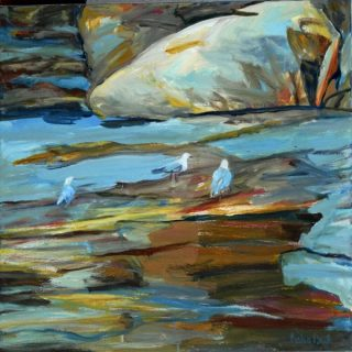 Rockpool 3 acrylic on canvas, 61 x 61cm copy
