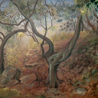 Carrs bush park 1 acrylic on canvas, 120 x 90cm copy