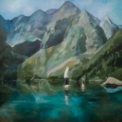 Janosik in high tatras acrylic on canvas, 120 x 90cm copy