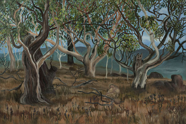 Jindabyne acrylic on canvas 91 x 61cm