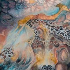 Mermaid, watercolour on paper, 30 x 40cm copy