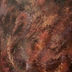 Phoenix acrylic on canvas 61 x 76cm