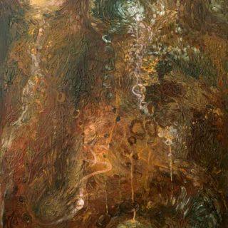 The earth acrylic on canvas 61 x 76cm