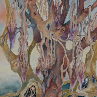 Tree soul watercolour on paper 30 x 40cm