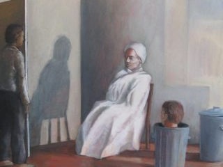 Stage right oil on canvas 61 x 76cm copy
