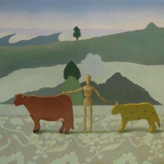The shepherd oil on canvas 63 x 91cm copy