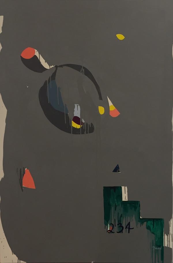 Esperanza oil on canvas, 167 x 111cm