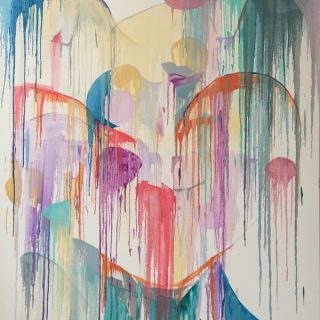 Euphoria oil on canvas, 167 x 121 5cm