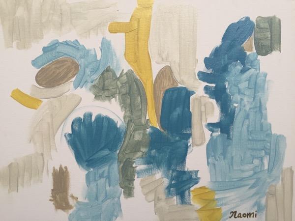 Nurture oil on canvas, 35.5 x 45.5cm