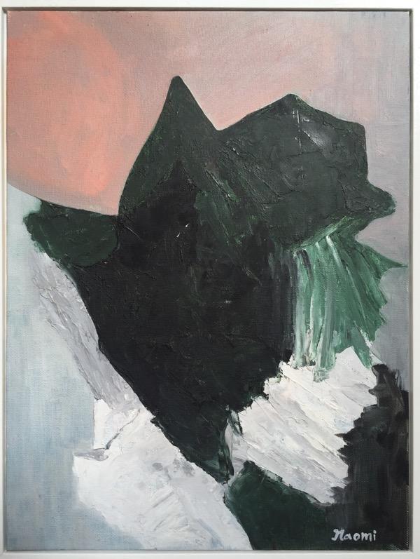 Portrait oil on canvas, 42 x 32cm (inc frame)