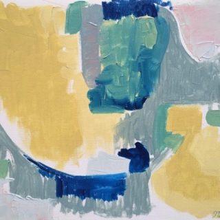 Promised Land oil on canvas, 32 x 42cm (inc frame)