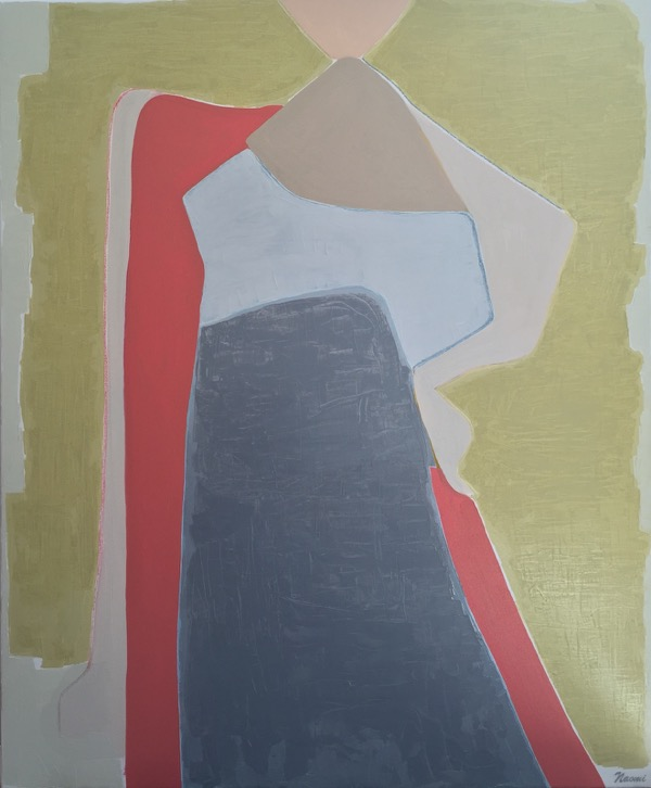 'silence', oil on canvas, 101x83cm copy