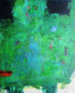 Dobroyd, north harbour acrylic on canvas 100 x 80cm