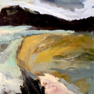 Mid North Coast, acrylic on canvas, 61 x 61 cm