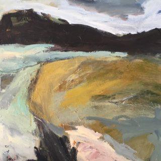 Mid North Coast, acrylic on canvas, 61 x 61cm
