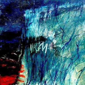 Of the land, acrylic on canvas, 61 x 61 cm