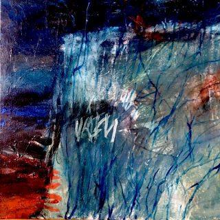 Of the Land, acrylic on canvas, 61 x 61cm